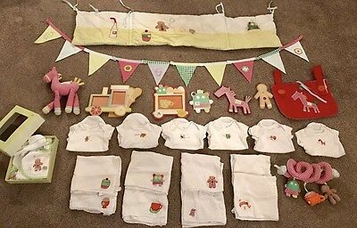 Mamas And Papas Gingerbread Bundle!! Bedding,toys,bunting!!