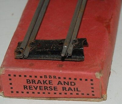 Hornby Series O Gauge Reversing/stopping Rail Boxed
