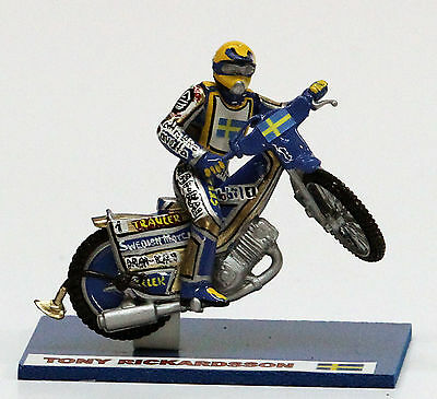 Tony Rickardsson speedway model (medium size) :: Handmade :: UNIQUE COLLECTION !