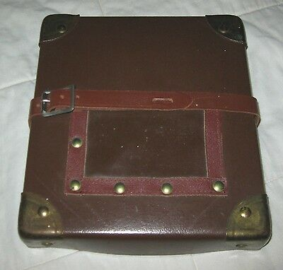 Vintage Fiberboard Movie Film Mailing Case Motion Picture Photography