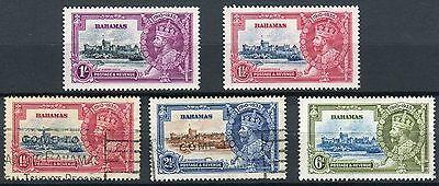 Bahamas 1935  - Silver Jubilee, MH + Cancelled