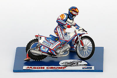 Jason Crump speedway model (large size) :: Handmade :: UNIQUE COLLECTION !