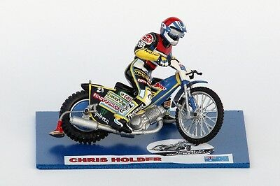 Chris Holder speedway model (large size) :: Handmade :: UNIQUE COLLECTION !