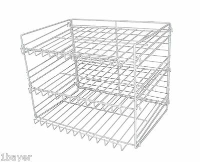 Pro-Mart Home Level Tier Juice Soup Can Container Storage Shelve Organizer Rack