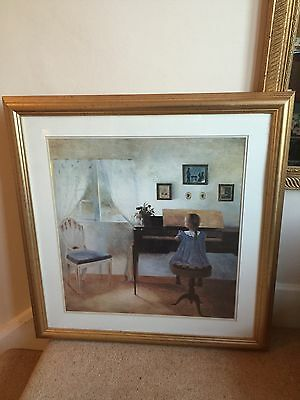 Job Lot Of Framed Prints / Watercolour / Impressionist Style