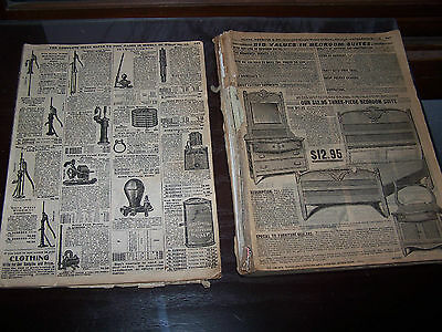 Part Of Antique Early 1900's Sears Roebuck Catalog