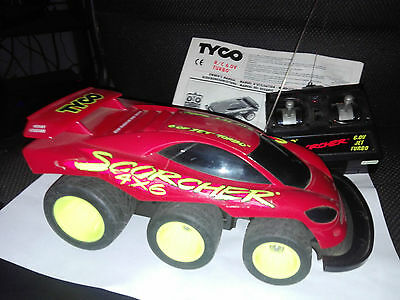 Tyco Scorcher with remote, battery and instructions!