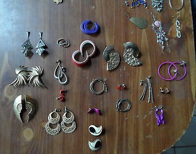 LOT of costume jewelry-LOOK! crafts, kids, use