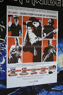 XL Promo Poster IN FLAMES Sounds From The Heart Of Gothen / Soilwork Samael