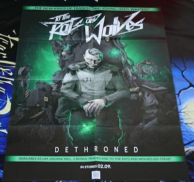 XL Promo Poster TO THE RATS AND WOLVES Dethroned / Adept Concepts