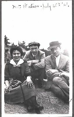 Vintage Photograph 1913 Los Angeles California Mt. Wilson Lady Girl Old Photo