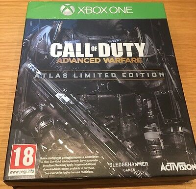 Call of Duty: Advanced Warfare Atlas Limited Edition Xbox One Steel book