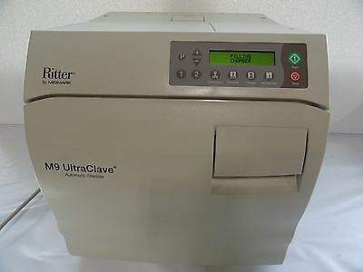 Ritter Midmark M9 Steam Sterilizer Autoclave Surgical Dental Low Cycles!