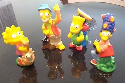 Simpsons collectable plastic figures