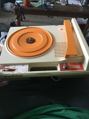 Vintage 1978 Fisher Price 825 Record Player Phonograph - 33 & 45's B