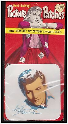Vintage 1950s iron-on Picture Patches- Bobby Darin