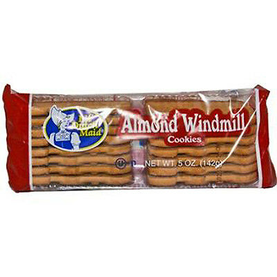Lil Dutch Maid Almond Windmill Cookies 5 Oz Each ( 12 In A Pack )