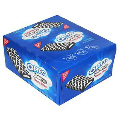 Nabisco Oreo Brownies Creme Filled 3 Oz Each ( 12 In A Pack )