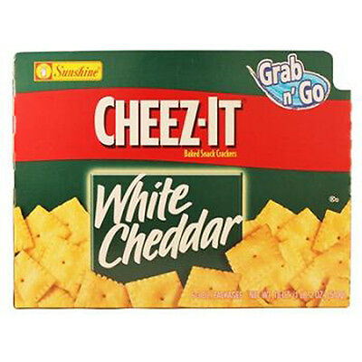 Cheez-It Grab N Go White Cheddar Crackers 3 Oz Each ( 6 In A Pack )