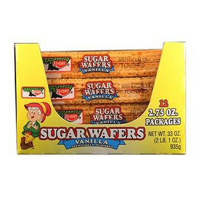 Keebler Sugar Wafers Vanilla 2.75 Oz Each ( 12 In A Pack )