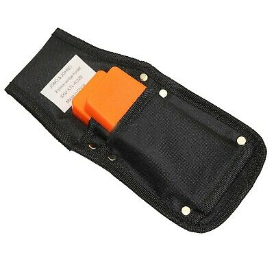 "Chainsaw Wedge Belt Holster + 2x 5"" felling wedges"