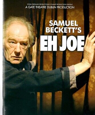 Michael Gambon signed Eh Joe theatre programme