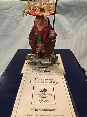 Greenwich Workshop Collection James C Christensen THE CANDLEMAN Limited Edition