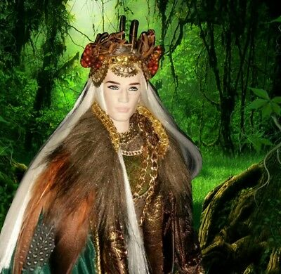 Elven King of the Forbidden Forest ~ Elf ken barbie doll fantasy custom DS