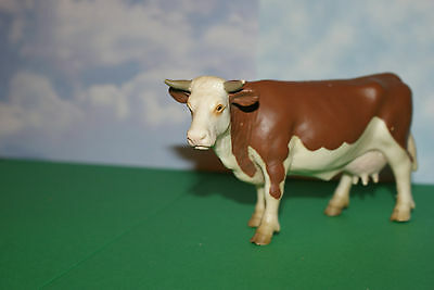 Dairy Cow with Horns by Schleich Farm Life 1999