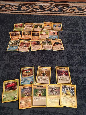 Nearly Complete Gym Heroes Set Pokemon Cards