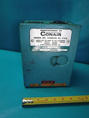 Used Conair Control Box Model 10003 Volts 115