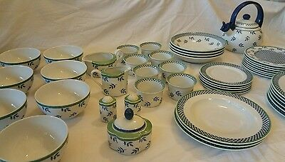 Villeroy & Boch porzellan dish set Switch 3 Germany porcelain lot of 46
