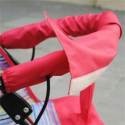 Hot Universal Baby Pram Pushchair Stroller HOOK LOOP Bumper/Handle Bar Cover Y