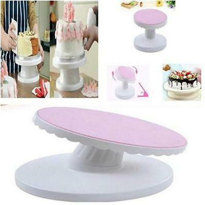 New Cake Decorating Turntable Rotating Revolving Icing Kitchen Display Stand Y