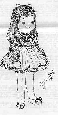 """20""""cloth/soft Sculpture Baby/toddler Doll&dress&pinafore&panties&shoes Pattern"""