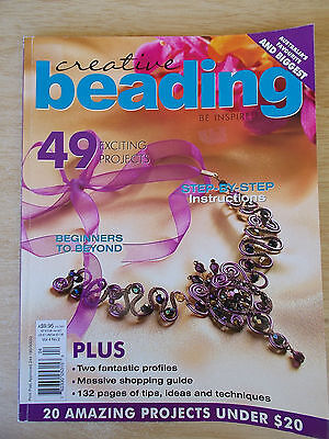 Creative Beading Vol 4 #2~49 Projects~Jewellery~Watches~Bracelets~Necklaces....