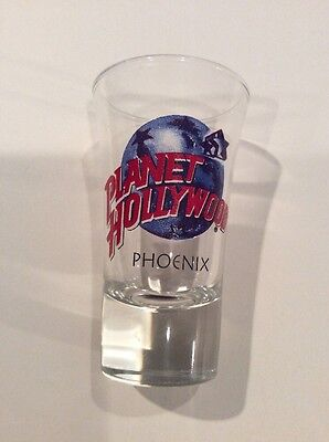 Planet Hollywood Tall Shot Glass - Phoenix