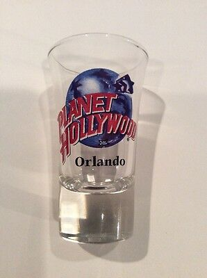 Planet Hollywood Tall Shot Glass - Orlando