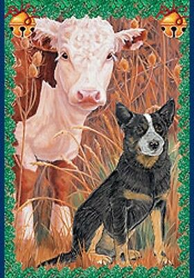 Australian Cattle Dog Holiday Cards by Pipsqueak Productions-12 pk w/ envelopes