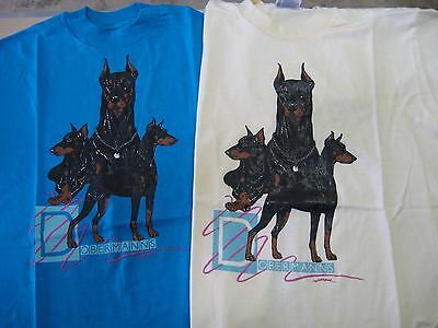Doberman Pinscher Tee Shirt - New - Choose your color!