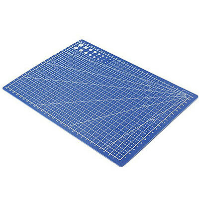 A4 Cutting Mat Printed Grid Lines Scale Plate Leather Paper Board Decorous