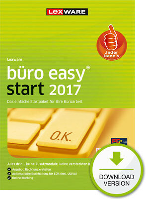 Lexware Buero Easy start 2017 (365-Tage Version) Win ESD Download-Lizenz / KEY