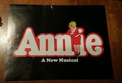 Vintage Annie A New Musical Program Playbill