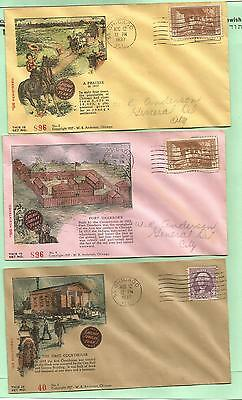 G5 - Chicago Aug 12, 1937 - 3 different WR Anderson commem covers