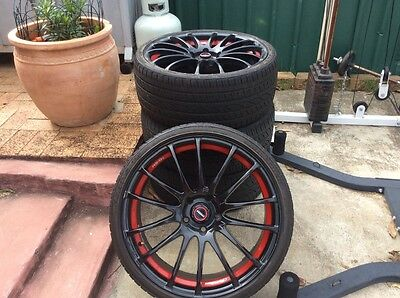 "20"" Holden Commodore ss Speedy wheels and tyres  Mt Druitt area"