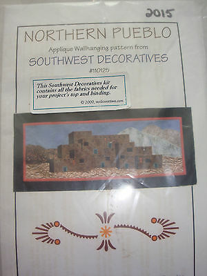 Northern Pueblo Applique Patchwork and Quilting Wallhanging Kit