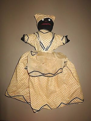 Vintage Black Mammy Doll Americana Toaster cover One of a Kind
