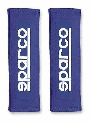 Sparco Seat Belt Covers x 2 - Blue - Limited Edition - Universal