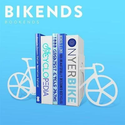 Bikends Bookends – Book End Cycling Reading Shelf Riding