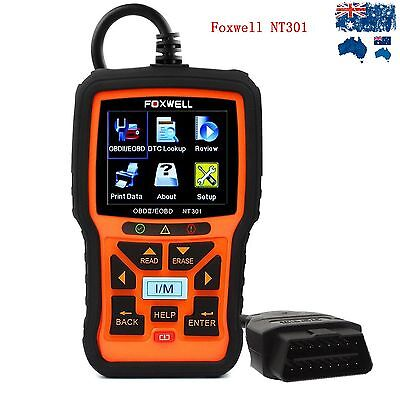 Foxwell NT301 CAN OBDII EOBD Code Reader DTC Auto Car Engine Diagnostic Scan Too